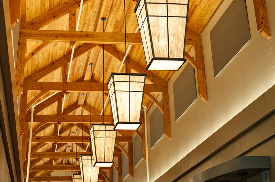 Exposed Timber Frame Ceiling 1