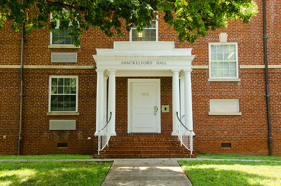 Shackleford Hall Left Entrance