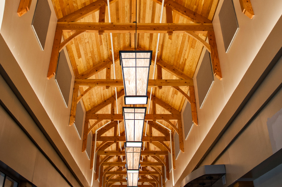 Exposed Timber Frame Ceiling 2
