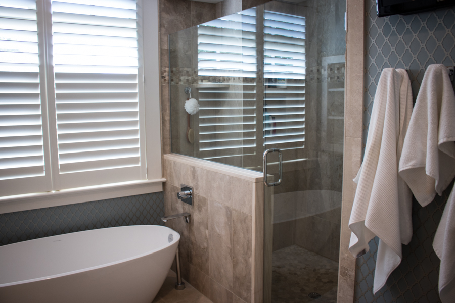 Master Bath Walk-in-shower